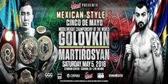 "Record StubHub Center Capacity Crowd Expected For GGG vs. Martirosyan -The World Middleweight Championship battle between boxing's longest-reigning champion Gennady ""GGG"" Golovkin and two-time world title challenger and fellow 2004 Olympian Vanes ""The Nightmare"" Martirosyan is one hot ticket!   The Cinco De Mayo extravaganza will take place on Saturday, May 5,...- http://www.saddoboxing.com/49279-record-stubhub-center-capacity-crowd-expected-for-ggg-vs-martirosyan.html"