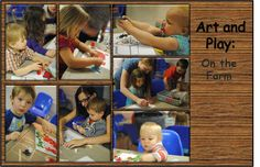 Art and Play: On The Farm | momstown Edmonton Farm Animal Crafts, Farm Crafts, Farm Animals, Book Activities, Baseball Cards, Play, Books, Kids, Art