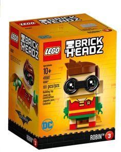 Lego 41587 BrickHeadz Robin The LEGO Batman Movie 101 Pieces New Box S – I Love Characters