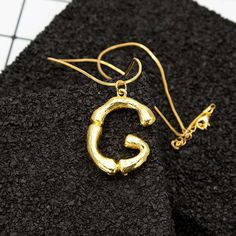 Statement Pendant Gold Necklace 26 Letters Charm Chain Sister Necklace Fashion Jewelry for Women is designer, more fashion necklaces for women sell at a wholesale price. Letter Pendant Necklace, Letter Pendants, Initial Necklace, Fashion Jewelry Necklaces, Fashion Necklace, Jewelry Rings, Women Jewelry, Jewellery, Necklace Extender