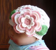 Crochet Hat For 2Years - 4Years