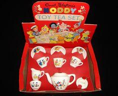 NODDY TEA SET 1950s