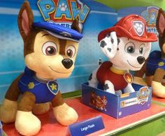 Paw Patrol Chase and Marshall Toys