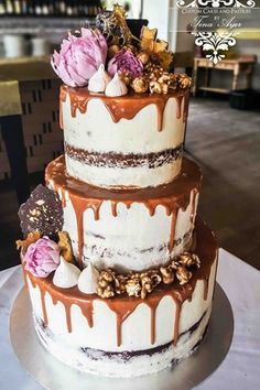 13 Glorious Popcorn Wedding Cakes   You & Your Wedding
