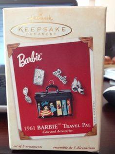 1961 Hallmark Keepsake Ornament Barbie Travel Pal (2001) Barbie,http://www.amazon.com/dp/B002HT4K08/ref=cm_sw_r_pi_dp_G6zcsb1WD8CFHP5X