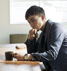 Asian Man Haircut, Asian Men Hairstyle, Hairstyle Ideas, Asian Short Hair, Asian Hair, Handsome Asian Men, Business Hairstyles, Shirt Hair, Men Style Tips