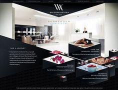 dramatic website design