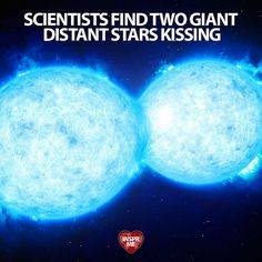 #Scientists Find Two Giant Distant #Stars Kissing ... #Space #Star #Science #PositiveNews (Video Link in My Bio) --------------------------------------- Some 160000 light-years away two stars are overlapping one another in what has been described as a potentially catastrophic final kiss. --------------------------------------- An international team of astronomers detected the dramatic double star system using the European Space Observatorys (ESO) Very Large Telescope  not to be confused…