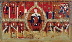 Anònim Frontal d'altar de Sant Vicenç d'Espinelves  Tallers de Vic Vers el 1187
