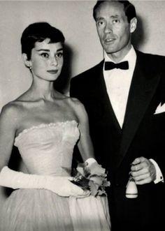 Audrey Hepburn and Mel Ferrer in Netherlands-November 1954