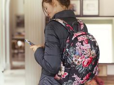 Bloomsbury Bouquet Padded Backpack | Cath Kidston AW15 #CKCrackingChristmas THIS IS JUST WHAT MY SISTER NEEDS