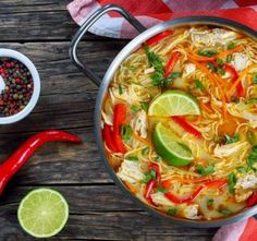 Enjoy our collection of online recipes from kitchens like yours. Browse breakfast recipes, lunch recipes, dinner recipes, dessert recipes and more. Lunch Recipes, Soup Recipes, Breakfast Recipes, Cooking Recipes, Coconut Curry Chicken Soup, Curry Soup, Asian Recipes, Ethnic Recipes, Diet