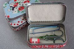 I LOVE Pinterest! I have found a handful of amazing ideas using recycled (or upcycled) Altoid tin boxes over this past year, and I am so ...