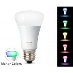 Philips Hue E27 White COLOR Ambiance - Ekstra Pære Philips Hue, Color, Lily, Colour, Colors