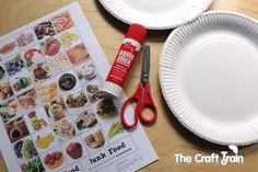 Healthy Eating Printable Activities for Preschoolers - the craft train
