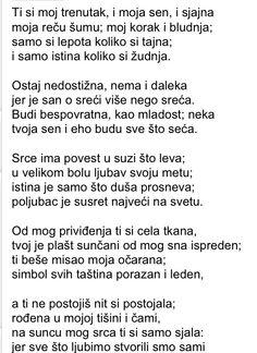 My all time favorite poem Jovan Ducic  Pesma Zeni