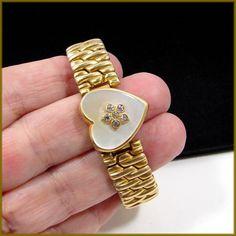 Vintage WW II Co-Star Sweetheart Expandable Bracelet - 1/20 12K GF Top ~ PRETTY!