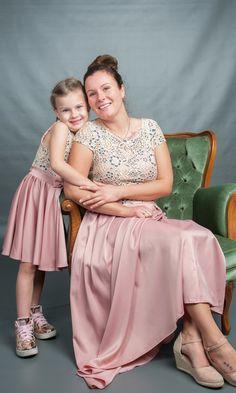 Mama-Tochter süßes Partnerlook