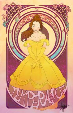 Disney princess virtues - Belle