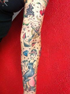 Sailor Jerry Tattoo Sleeve Designs sailor jerry 1/2 sleeve tattoo ...