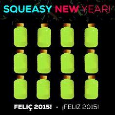 #Squeasy New Year! Por un 2015 lleno de COLOR  ¡Feliz año! / Per un 2015 ple de COLOR  Bon any!