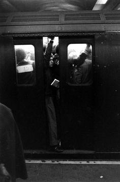 New York subway, 1969. Photo: Ralph Crane.