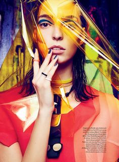 Art Studio: Djana By Max Abadian For Elle Canada May 2014