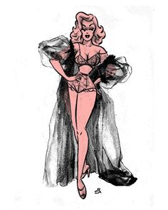 Мэйми 🖤 - sveta_has Comics Vintage, Vintage Cartoon, Cartoon Art, Vintage Art, Hollywood Glamour, Pin Up Drawings, Drawn Art, Arte Obscura, Pulp Art
