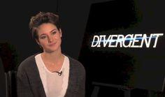 Shailene Woodley Short Hair Divergent