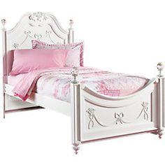 Disney Princess White 5 Pc Twin Poster Bedroom - Disney Bedroom Sets