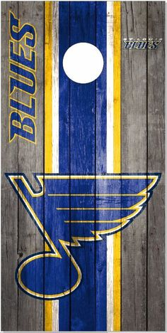 St Louis Blues Weathered Wood Cornhole Wrap Bag Toss Skin Decal Sticker Wraps
