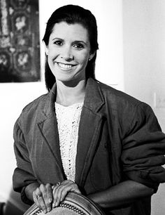 Carrie Fisher, 1986