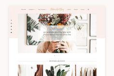 Lifestyle Blog Theme - Adorable  WordPress Themes | Lifestyle Blog Theme | Fashion Blogger | GirlBoss   Blog Design | Feminine WordPress Theme | Pink WordPress Theme for Beauty   Bloggers #WordPressTheme #BlogDesignInspo #BlogDesign