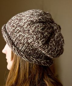 Avery Slouch Hat OSFA PDF Pattern by Melissa Schaschwary Published in Dandiliongirl Designs (Ravelry), Free