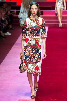 Lex Herl for Dolce & Gabbana Spring 2018