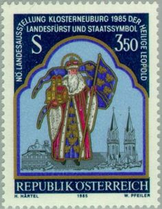 Saint Leopold (c. 1075-1136) margrave of Austria