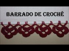 Bico de crochê carreira única#63 - YouTube