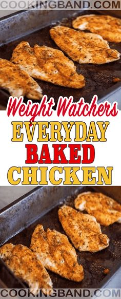 Everyday Baked Chicken | COOKING BAND