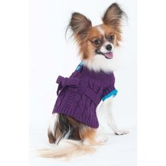 Bradley Caldwell Sorority Girl Dress, Purple, XX-Small ** See this awesome image  : dog clothes