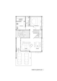 Ngamwongwan House,Floor Plan
