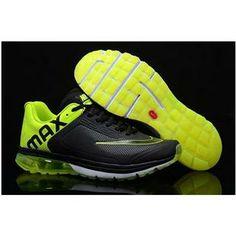 http://www.asneakers4u.com/ 2013 Nike air max mens shoes black green size40 44