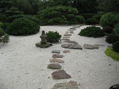 jardín meditación