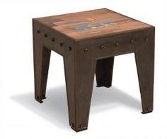 Table basse industrielle Brooklyn - Alexander & Pearl via Press Loft France