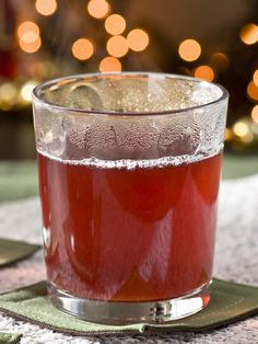 Cranberry Hot Toddy - 21 Cold Weather Cocktails on HGTV