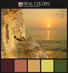 Example of Analogous Colour Swatches. Analogous relationships are two colours next to each other on the colour wheel. Minimum of two, but no more than five. Changing perspectives - Analogous color palette.