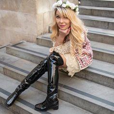 Hunter Boots shiny black need! | Botas de lluvia, Botas