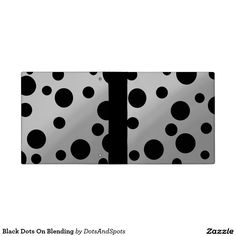 Black Dots On Blending 3 Ring Binder