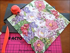 Easy Paper Napkin Transfer That Will Blow Your Mind! - My Humble Home and Garden Easy Paper Napkin Transfer That Will Blow Your Mind! - My Humble Home and Garden Card Making Tips, Card Making Tutorials, Making Ideas, Decorative Paper Napkins, Napkin Cards, Painted Wine Bottles, Decorated Bottles, Paper Napkins For Decoupage, Decoupage Tutorial