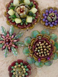 RMBS Bead Bazaar SUCCULENT FLOWERS - Heidi Kummli
