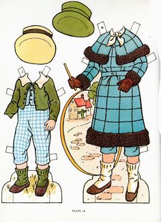 Kate Greenaway (1981) * 1500 free paper dolls at Arielle Gabriel's The International Paper Doll Society and also free paper dolls at The China Adventures of Arielle Gabriel *